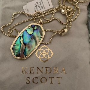 NWT Kendra Scott long Gold necklace